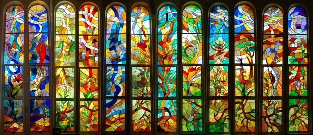 12 tribes stained glass