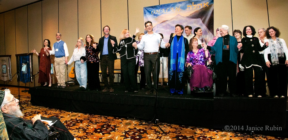 From left-to-right: Rabbi Aura Ahuvia, David Aladjem, Rabbi Ilan Glazer, Rabbi Cynthia Joy Hoffman, Nalini Indorf-Kaplan, Evan Krame, Eliana Nadyne Lee, David Evan Markus, Shira Michael, Rabbi Sue Morningstar, Rabbinic Pastor Stephanie Tivona Reith, Rabbi Dr. Leslie Schotz, and Lori Shaller