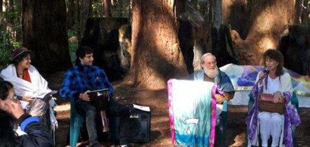 Rabbis Nadya & Victor Gross at Ruach Ha'Aretz