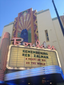 the theater marquee