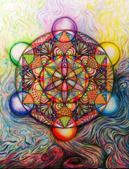 Mandala - Merkabah by Ashley Yang