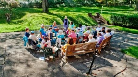 Kol Zimra Chant Leader's Training. Photo © Janice Rubin