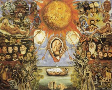 Moses, Frida Kahlo, 1945