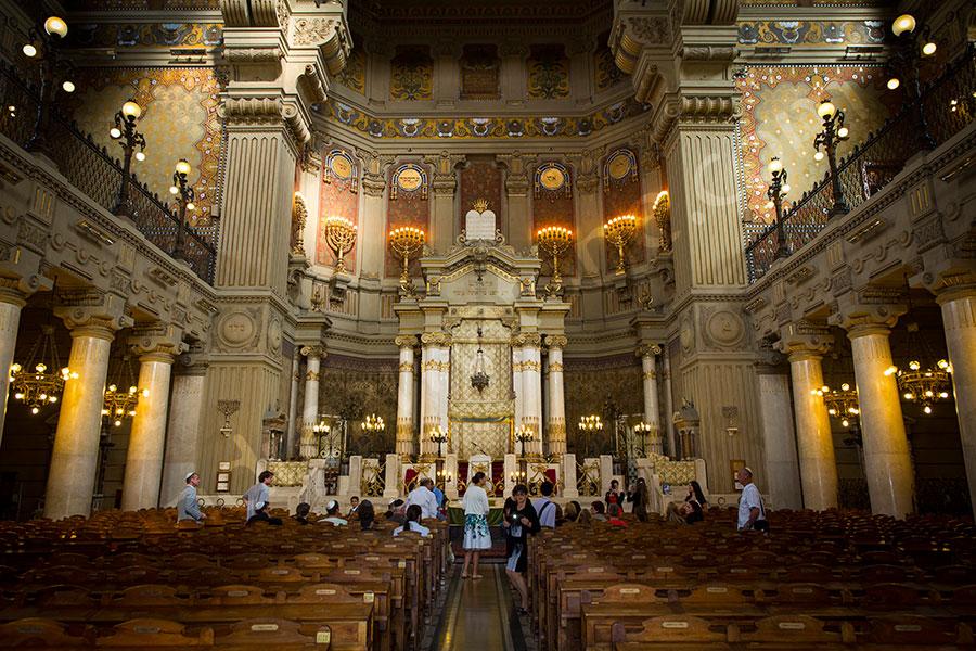 The Great Synagogue, Rome photo © Andrea Matone