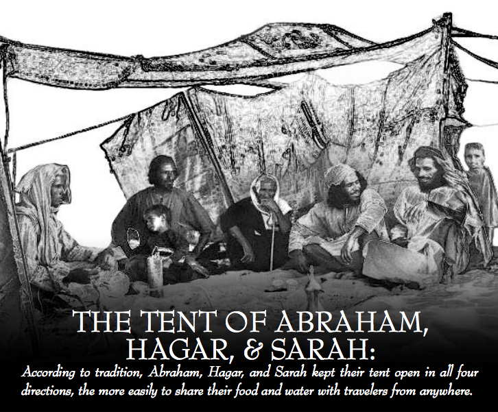 The Tent of Abraham, Hagar, and Sarah: A Multireligious call for Peacemaking