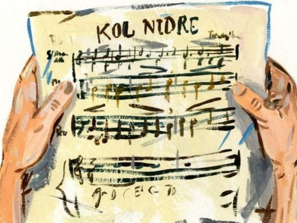 Meditation Practice for Kol Nidre by Rabbi Marcia Prager and
