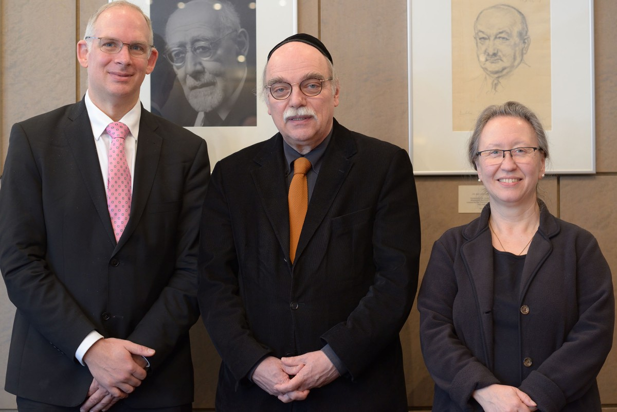 Rabbi Prof. Dr. Andreas Nachama appointed to lead the General Rabbinical Conference of Germany (ARK)